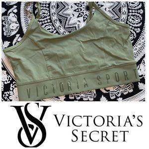 Victoria's Secret Logo Sports Bra VSX